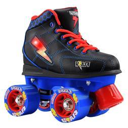 Crazy Skates | FLASH Boys Kids Girls LED Roller Quad Speed R