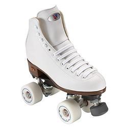 Riedell Skates - Angel - Artistic Quad Roller Skate | White