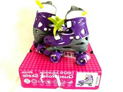 Chicago Skates Girls Adjustable Quad Roller Skates Size J10-