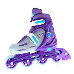 Crazy Skates | Girls Kids 4 Size Adjustable Inline Skate Rol