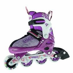 Crazy™ 168 Girls Boys 4 Sizes Adjustable Inline Roller Ska