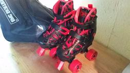 Epic Skates Red Camouflage Indoor/Outdoor Skates Size 12-2