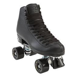 Riedell Skates Wave Mens Roller Skate,Black,7