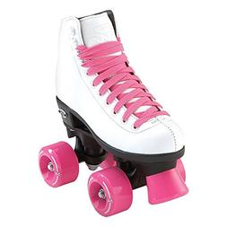 Riedell Skates Wave Girls Roller Skate,White,J1