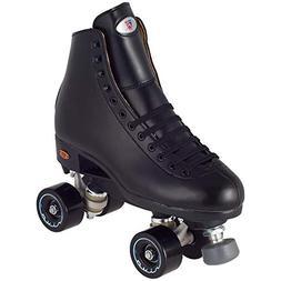 Riedell Skates - Angel - Artistic Quad Roller Skate | Black