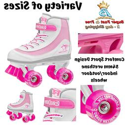 Roller Derby Skates Youth Girls Roller Skates Size 1 Size 13
