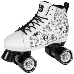 Chaya Sketch Indoor/Outdoor Quad Roller Skates