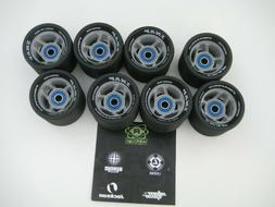 snap roller skate derby wheels set of