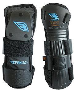 Demon Snow Flexmeter Wrist Guard - Double Black M