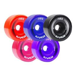 Sonar Zen Outdoor Roller Skate Wheels by Riedell Blue