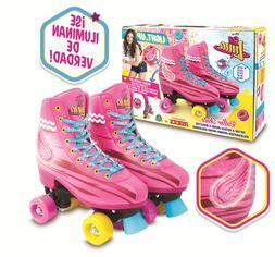 Soy Luna Light Up Skates Roller Training With Original Serie