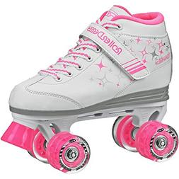 Roller Derby Sparkle Girl's Lighted Wheel Roller Skate