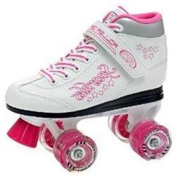 Roller Derby Sparkle Girl's Lighted Wheel Roller Skate