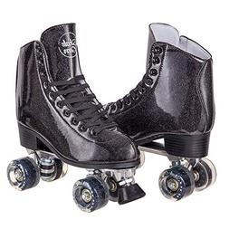 Cal 7 Sparkly Roller Skates for Indoor & Outdoor Skating, Fa