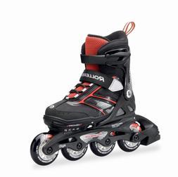 Rollerblade Spitfire JR XT 2016 Kids Skate, Black/Red, Adjus