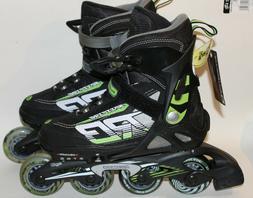 Rollerblade Spitfire XT Adjustable Kids Inline Skates Y5-8 N