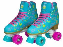 Epic Splash Quad Roller Skates Size 06