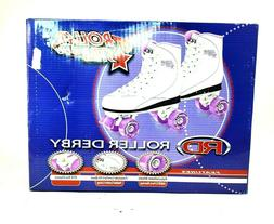 Roller Derby Star 600 Freestyle Women's Boot Skates White an