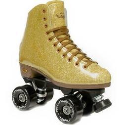Suregrip Stardust Roller Skate Glitter Gold