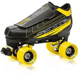 Roller Derby Men's Sting 5500 Quad Roller Skate, Black/Yello
