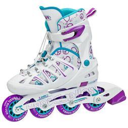 Roller Derby Stinger 5.2 Adjustable Girl's Inline Skates - I