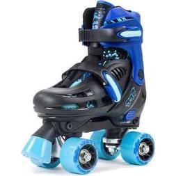 SFR Storm III Adjustable Roller Skates - Black/Blue