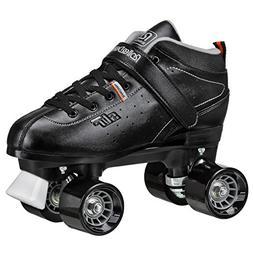 Roller Derby Str Seven Men's Roller Skate, Black/Grey, 10