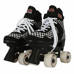 Circle Society Street Checkered Adjustable Kids Roller Skate