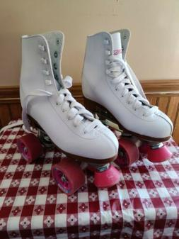 Street Roller Skates For Women Size 10 Derby White Pink Spee