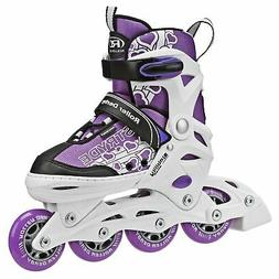 Roller Derby Stryde Girl's Adjustable Inline Skates - I146G