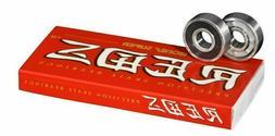 Bones SUPER Reds Skateboard Bearings  8mm longboard roller s