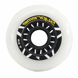 Rollerblade Supreme Urban 80mm/85A Inline Skate Wheels - 8 P