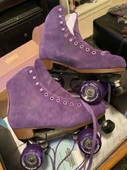Sure Grip Boardwalk Roller Skates Size 8 Purple With Pink Dy