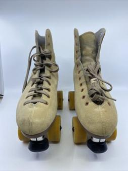 Sure Grip Competitor 3R 3L Leather Suede Roller Skates size