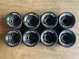 Sure Grip Cyclones Black Roller Skate Wheels