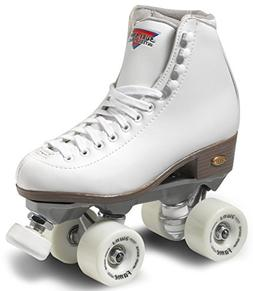 Sure-Grip Fame Indoor Roller Skates - White - Size: 8