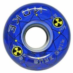 Sure-Grip NUKE 78A 62mm Quad Roller Skate Wheel - blue