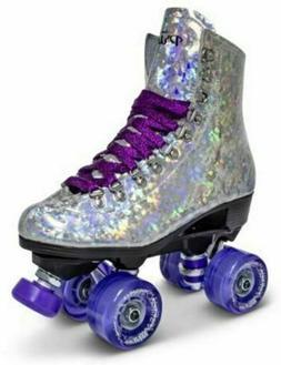 Sure-Grip Quad Roller Skates - Prism Womens Size 9
