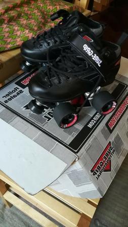Sure-Grip Rebel Roller Skates- black sz woman's 6 / mens 5