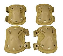 tactical combat knee and elbow protective pads