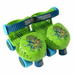 Playwheels TMNT Kids Rollerskate Junior Size 6-12 with Knee