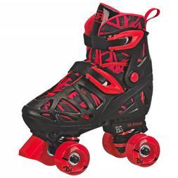 Roller Derby Trac Star Boy's Adjustable Roller Skate, Grey/B