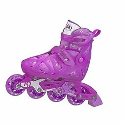 Roller Derby Tracer Girls Adjustable Inline Medium 2-5 Youth