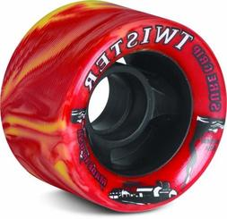 Sure-Grip Twister Wheels - Yellow/Red