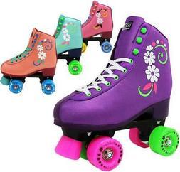 Lenexa#uGOgirl Quad  Youth Roller Skates for Girls Sizes J-1