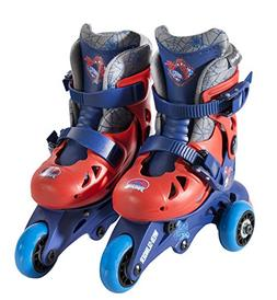 PlayWheels Ultimate Spider-Man Kids Convertible 2-in-1 Skate