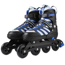 Unisex Adult Adjustable Inline Skates Roller Blades Breathab