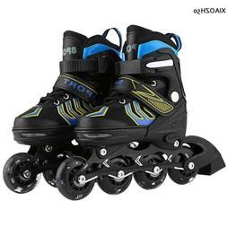 Unisex Kids Inline Skate Rollerblade Roller Blades Boots Adj