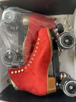 UO NEW Moxi Roller Skates Suede Lolly Outdoor Completes Sz 9