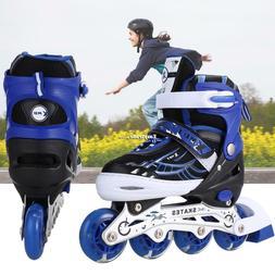 US12J-8 Pair of Inline Skates Fun Skating Roller Blades with